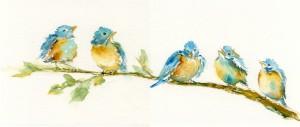 Five Robins Lesson 6 Intro To Watercolor
