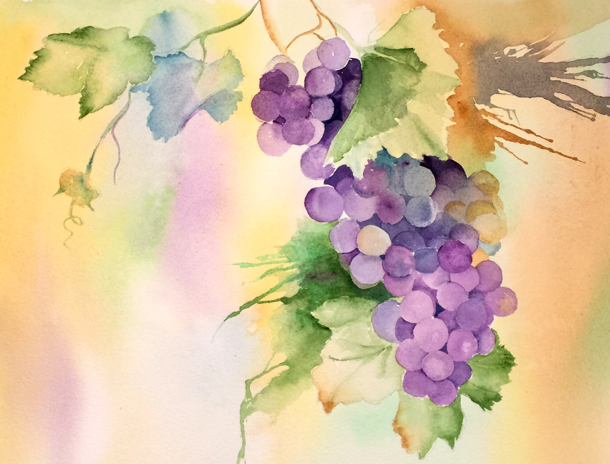 how to begin watercolor painting