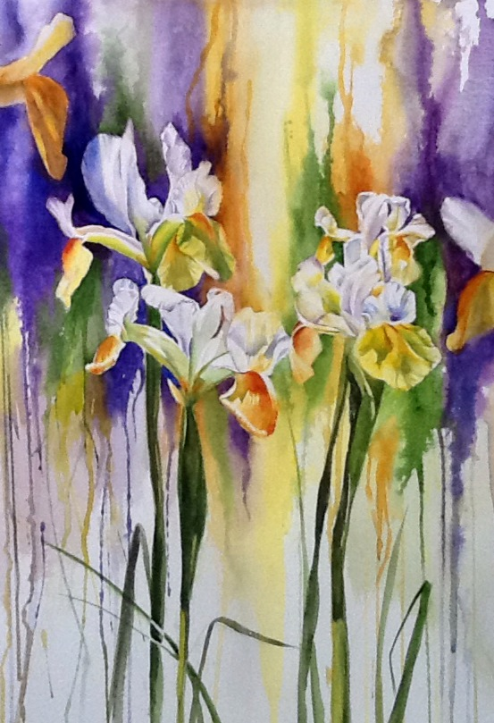 Wet and Wild Irises