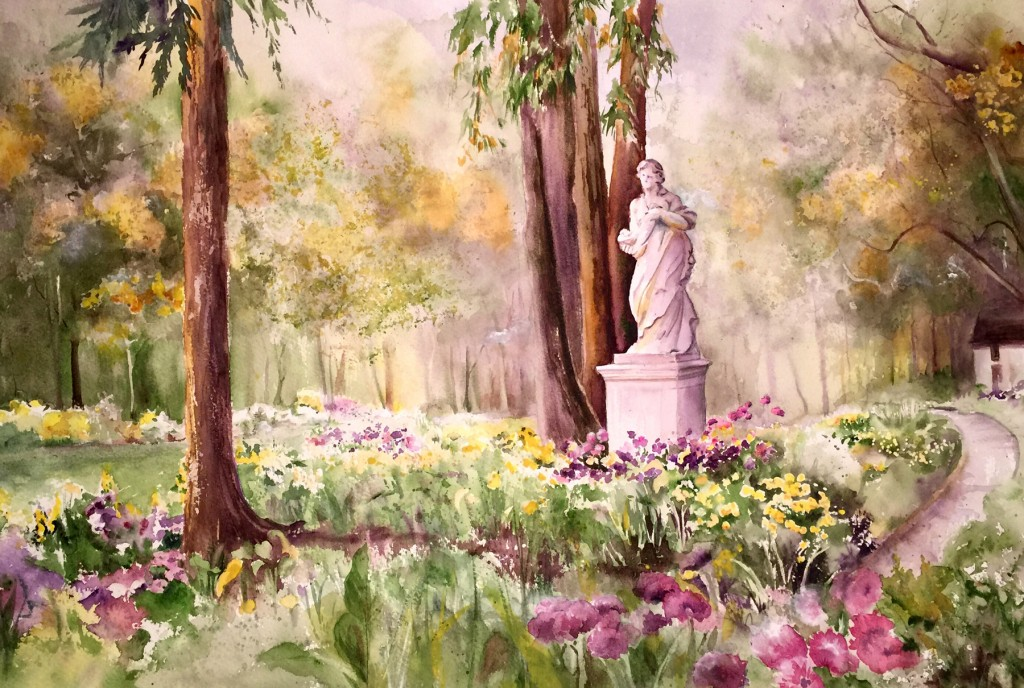 Gracing The Garden Grounds
